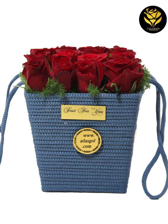 خرید باکس گل کنفی