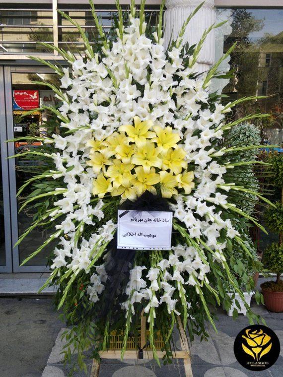 خرید پایه تاج گل