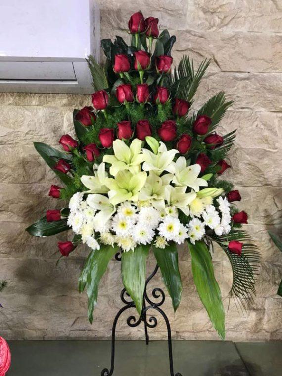 پایه گل فرفوژه یکطرفه کد 481