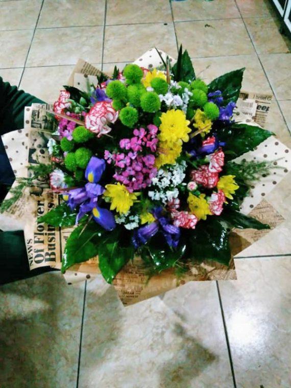 دسته گل گرد کد 530